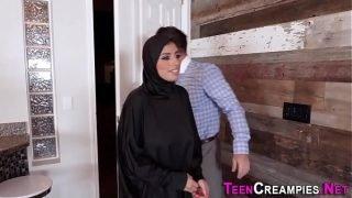 Creampied busty arab teen