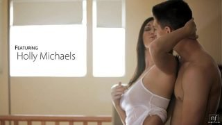 Nubile Films – Bigtit hottie Holly Michaels cums on her mans tongue