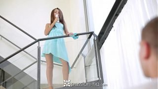 Passion-HD – Hot European Alexis Brill ditches vibrator for real cock