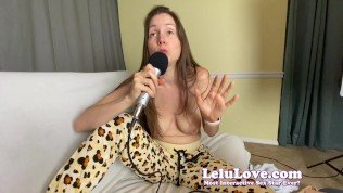 PORN video podcast behind the scenes sex and accident stories – Lelu Love