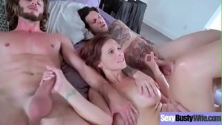(Syren De Mer) Bigtits Horny Housewife Get Banged On Sex Tape movie-24